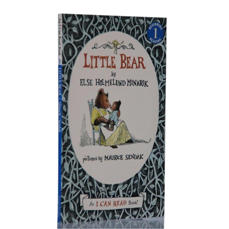 英文原版 I Can Read, Level 1 Little Bear小熊系列 汪培珽私房英文书单第二2阶段经典绘本读物小熊一家温馨有趣的故事 送音频