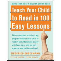 【现货】英文原版 Teach Your Child to Read in 100 Easy Lessons 教孩子学阅