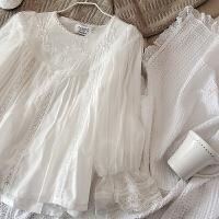 小仙女睡衣套装女秋冬长袖公主风日系日式蕾丝甜美可爱家居服