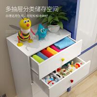 抽屉式收纳柜儿童衣柜玩具架宝宝储物箱五斗柜卧室储物柜整理柜