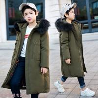 冬季儿童羽绒服男童2018新款品牌中长款加厚童装中大童男秋冬新款
