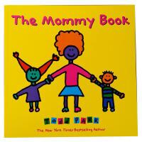 【全店300减100】英文原版绘本 The Mommy Book 妈妈 纽约时报畅销书作家Todd Parr 儿童家庭成