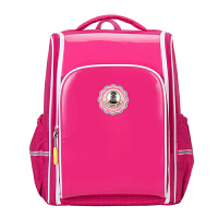 卡拉羊书包小学生女减负护脊日韩双肩背包男1-3-4-6年级儿童书包防水CX2611