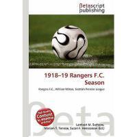 【预订】1918-19 Rangers F.C. Season