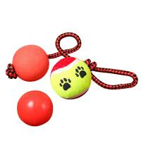 狗狗玩具球金毛弹力球耐咬磨牙网球宠物幼犬小狗玩具