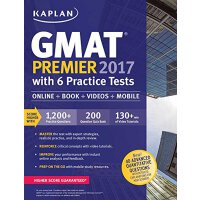 GMAT Premier 2017 with 6 Practice Tests: Online+Book+Videos