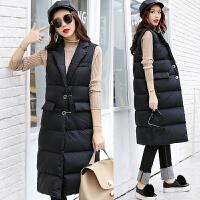 20180404054245292棉衣马甲女士外套冬季新女装韩版中长加厚棉衣外套女潮羽绒棉