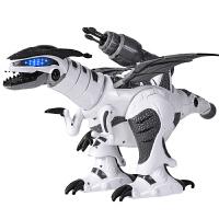 男孩3-6周岁儿童遥控恐龙玩具 电动战龙仿真动物霸王龙机器人
