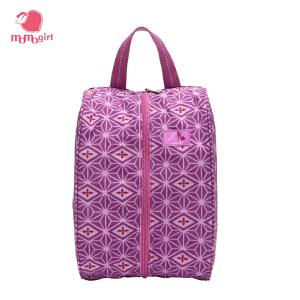 momogirl尼龙大容量鞋袋超轻耐脏旅行收纳包实用简约旅行袋M0179