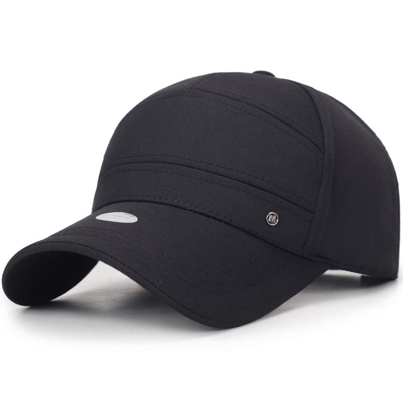 棒球帽春秋男帽子时尚男士帽子秋冬棒球帽潮鸭舌帽户外帽子男