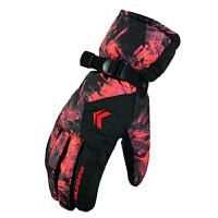 保暖手套男加厚 骑行手套滑雪手套女防水防滑手套