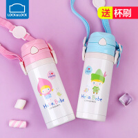 儿童水杯宝宝水壶小孩喝水杯子带吸管 吸管杯婴儿保温杯
