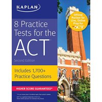 8 Practice Tests for the ACT: Includes 1,728 Practice Quest