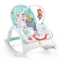 费雪 Fisher-Price 玩具 新生儿宝宝婴幼儿多功能轻便摇椅睡觉椅W2811