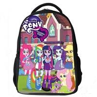 小马宝莉卡通儿童书包可爱女童背包小学生1-3-5-6一二年级2双肩包