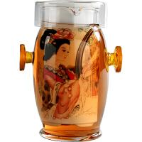 双耳杯过滤茶壶 青花陶瓷家用玻璃茶具红茶杯泡茶器