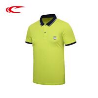 赛琪夏季新款男士运动短袖T恤男青年POLO衫跑步衫半袖体恤上衣