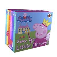粉红猪小妹 6本盒装【现货】英文原版童书 Peppa Pig: Fairy Tale Little Library 小