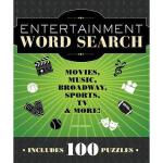 【预订】Entertainment Word Search: Movies, Music, Broadway