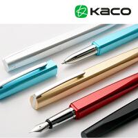 正品KACO SQUARE品致限量版商务金属签字钢笔 高档木质礼盒包邮