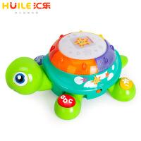 玩具678启智爬行龟玩具电动玩具手拍鼓儿童玩具1-3岁爬行玩具