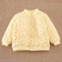 婴儿棉衣 宝宝加厚幼儿童装秋冬季小童冬装外套 男童女童棉袄内胆
