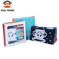 TBW3177322大嘴猴(Paul Frank) 儿童毛巾 口水巾洗脸小方巾 毛巾方巾3件/装