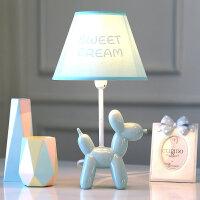 气球狗可调光LED台灯卧室床头灯浪漫温馨儿童房可爱北欧风格