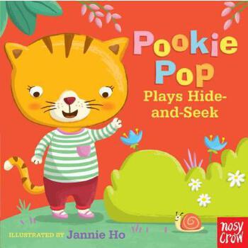 【预订】Pookie Pop Plays Hide-and-Seek  A Tiny Tab Book