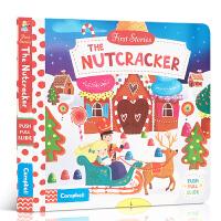 英文原版 First Stories BUSY系列 童话故事篇 The Nutcracker 胡桃夹子纸板书操作活动书