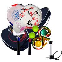 柔力球 初学者太极铝合金柔力球拍女健身用品中老年梅花双面柔力球套装男