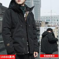 棉衣男士外套冬季2018新款加厚冬装男生棉袄潮牌短款工装羽绒
