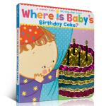 【发顺丰】英文原版 Where Is Baby's Birthday Cake? 宝宝的生日蛋糕在哪?Karen Ka
