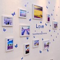相框墙客厅创意相框墙贴组合 卧室餐厅相片墙挂墙