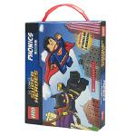 英文原版绘本 Lego DC Super Heroes Phonics 12册盒装 乐高DC英雄 儿童认识自然拼读书籍