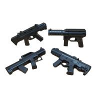 儿童玩具迷你98KAWM小软弹枪晚上吃鸡合金6mm水珠蛋手动玩具枪安全上堂可发射儿童节礼物 4款一套(4把) 长约:1