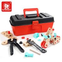 儿童工具箱玩具套装仿真维修工具益智4-6岁男孩拧螺丝修理过家家
