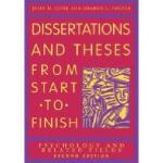 【预订】Dissertation and Theses from Start to Finish:
