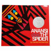 英文原版 Anansi the Spider A Tale from the Ashanti 蜘蛛安纳西 1973年凯