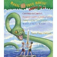 Magic Tree House Boxed Set, Books 29-32 神奇树屋有声读物29-32(仅CD,不