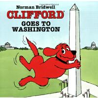 英文原版Clifford Goes To Washington大红狗去华盛顿