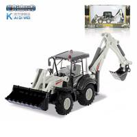 凯迪威合金模型双向铲车玩具工程车挖土机挖掘机原厂仿真儿童车模儿童节礼物