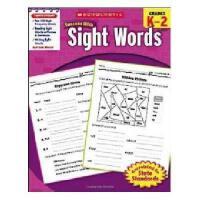 【现货】英文原版 Scholastic Success With Sight Words学乐成功英语 常见词 Grad