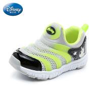 【159元任选2双】迪士尼Disney童鞋2018新款儿童运动鞋毛毛虫童鞋男童运动鞋休闲鞋单网跑步鞋(5-10岁可选)