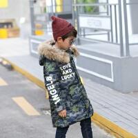 儿童羽绒服男孩子新冬天男童中长大中童童装外套童装