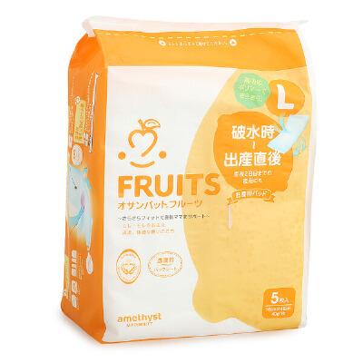 日本Amethyst大卫产妇卫生巾产后专用产褥期月子待产纯棉L号5片