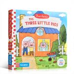 英文原版绘本 First Stories BUSY系列童话篇 The Three Little Pigs 三只小猪儿童
