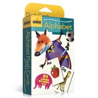 顺丰包邮 英文原版 Alphabet 字母ABC卡片54长盒装 Golden Books 兰登出品 0-3-6岁儿童启