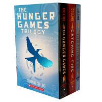 英文原版 饥饿游戏小说三部曲 全套1-3册 The Hunger Games Trilogy 电影原著正版小说书籍 燃
