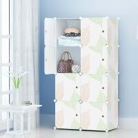 门扉 收纳柜 简易衣柜塑料组装收纳箱柜子储物箱树脂抽屉式衣橱